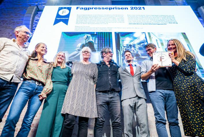 Se alle vinnerne: Fagbladet vant Fagpresseprisen