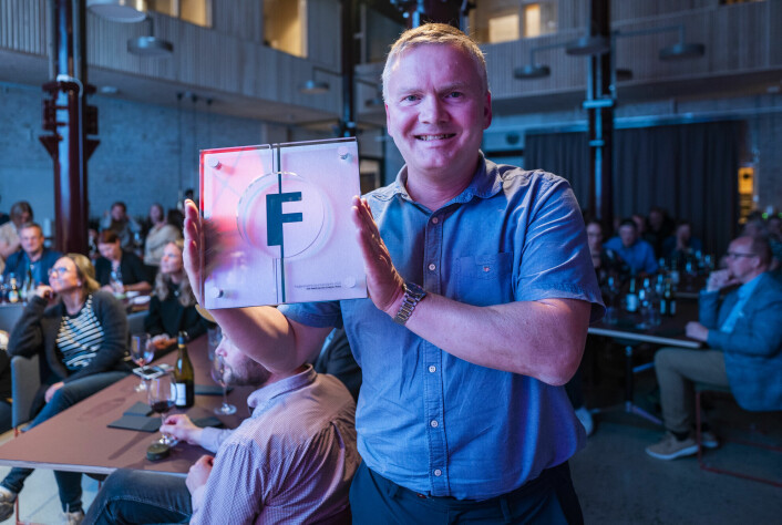 Geir Røed, frilanser for bladet Motor, vangt Fagpressens journalistpris 2021