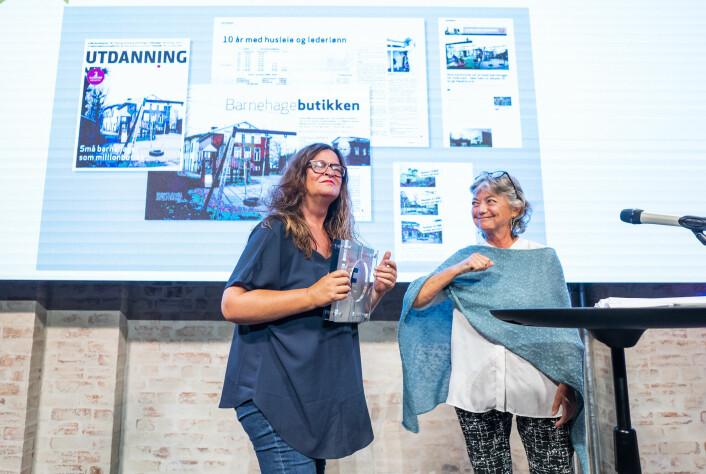 Bladet Utdanning, ved Kari Oliv Vedvik, vant Fagpressens gravepris.