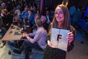 Eva Ler Nilsen, ansvarlig redaktør i Fagbladet.