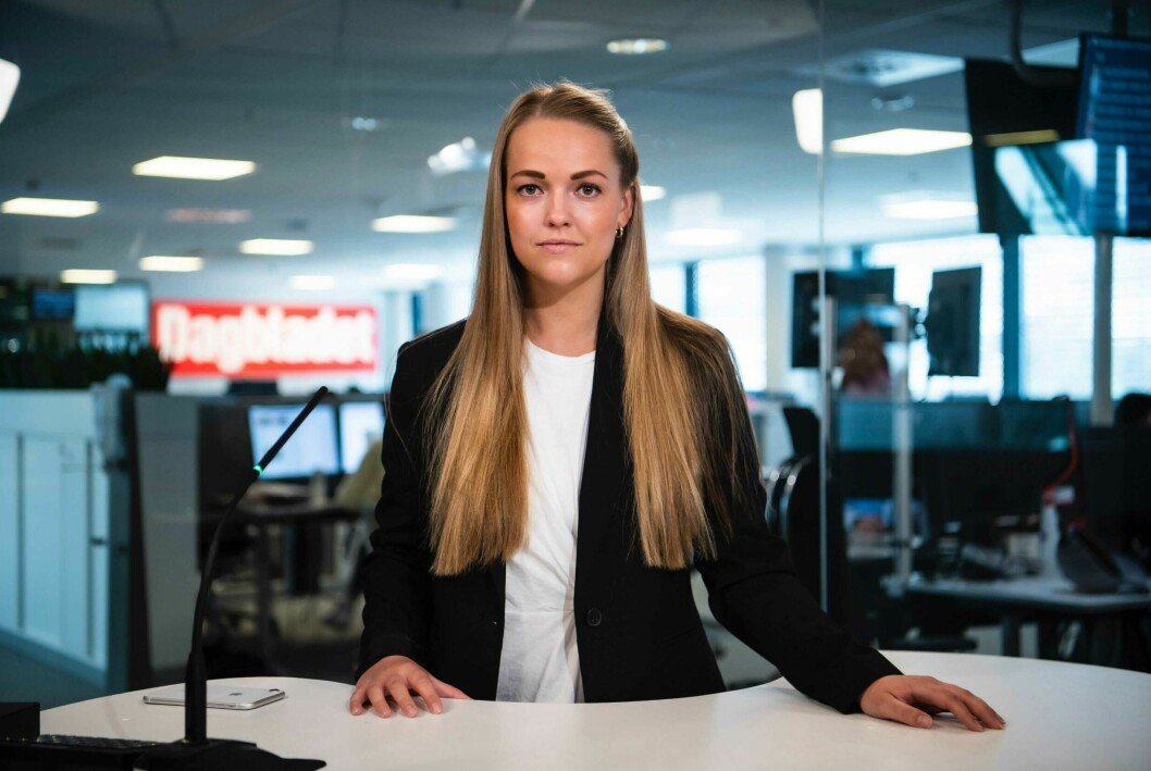 Madeleine Liereng har fungert som produsent for Rød Løper siden februar. Nå får hun jobben fast.