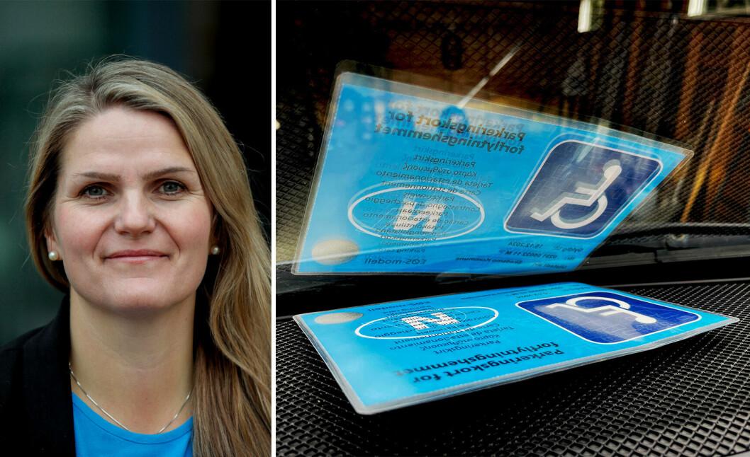 NRKs språksjef Karoline Riise Kristiansen presenterer i disse dager NRKs reviderte ordliste for funksjonsmangfold.