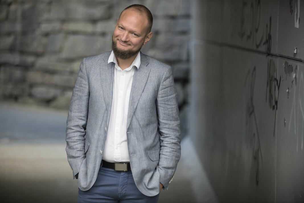 Eirik Langeland Fjeld blir redaktør for ny satsing. Mer enn det kan han nesten ikke avsløre.
