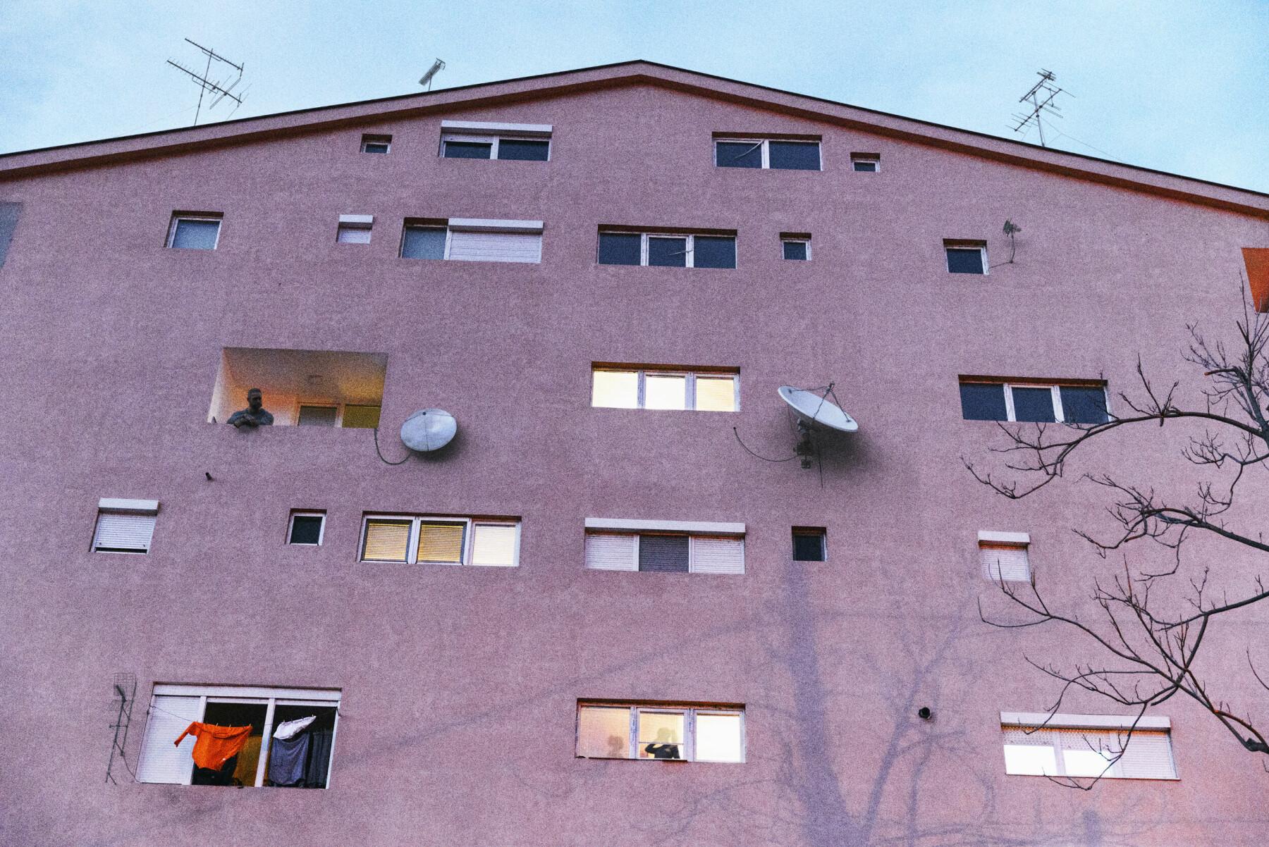 Et leilighetskompleks i Veles.