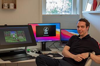 Adrian hadde drømmejobben som journalist i VGTV. Nå satser han på eget animasjonsstudio