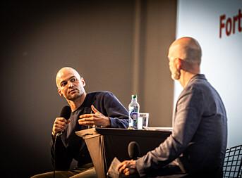 Anders Hammer ble intervjuet av Ove Sjøstrøm på Fortellingens kraft.