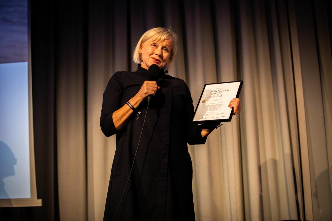 Kjersti Mjør er vinner av Fortellerprisen 2020/2021.