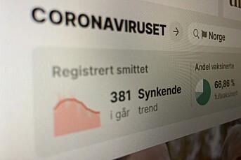 VG fjerner «korona-stripa» fra toppen av nettfronten