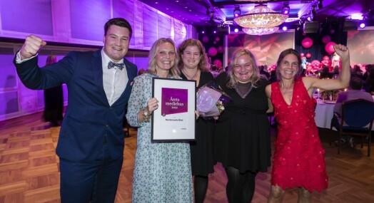 Amedia feiret seg selv: Nordstrands Blad er Årets mediehus