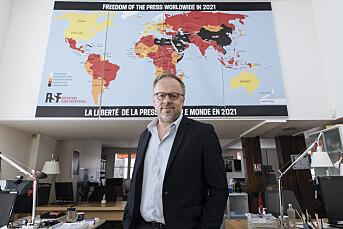 Prio-direktør tror på fredspris til Reportere uten grenser