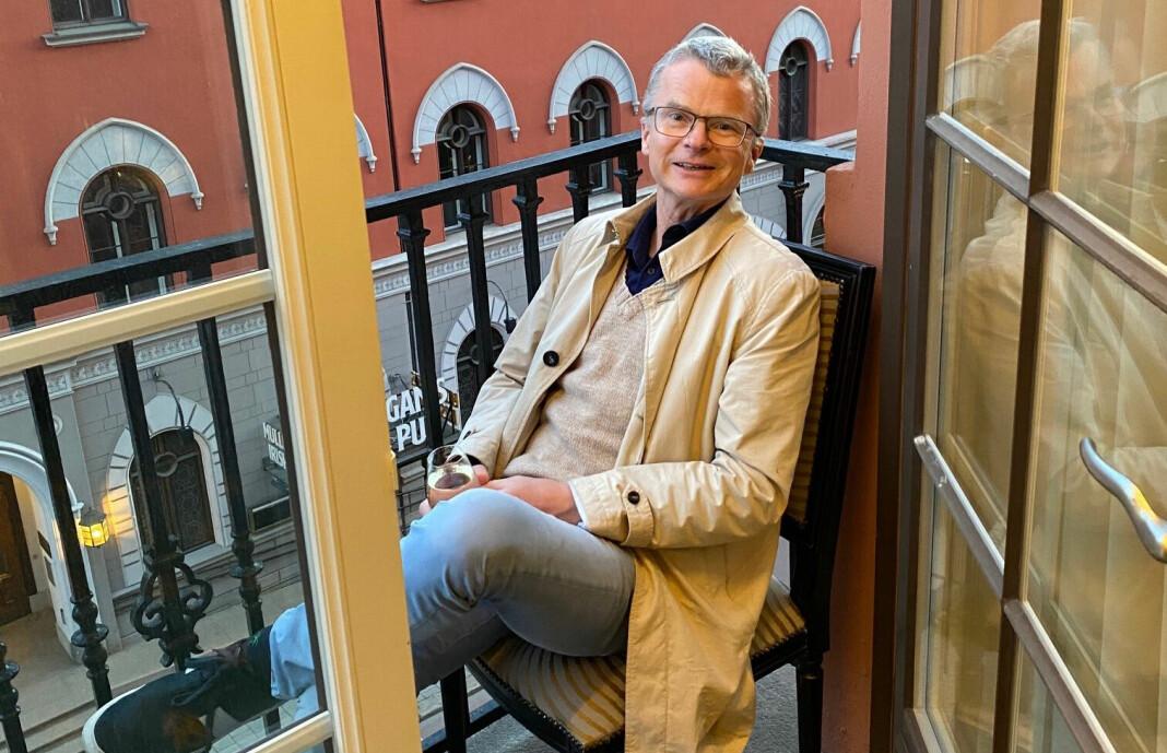 Lars Helle får ny jobb.