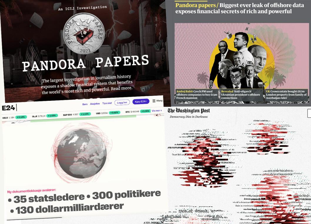 600 journalister fra 150 mediehus over hele verden har det siste året samarbeidet om å granske nær 12 millioner lekkede dokumenter om hemmelige selskaper og skjulte formuer.