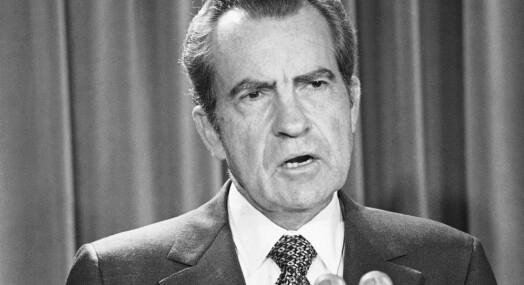 Dansk journalist forfalsket Nixon-tale, vant Emmy-pris