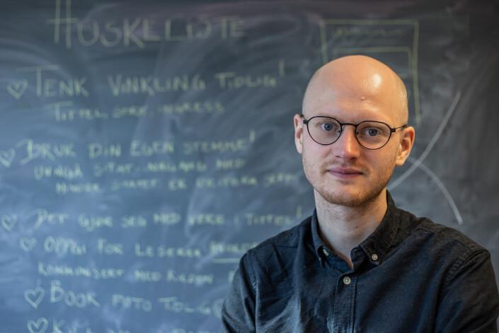 Endre Ugelstad Aas er ansvarlig redaktør for studentavisen Universitas.