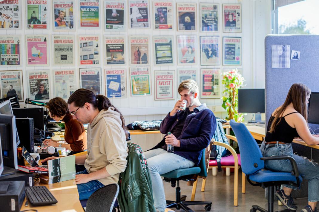Universitas 75 år:– Avisa er et idealistisk prosjekt som formes av selve redaksjonen