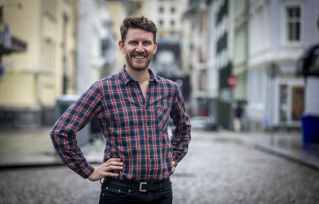 – Jeg har lyst til å være en kulturredaktør for både medkultur og motkultur, sier Jens Kihl.