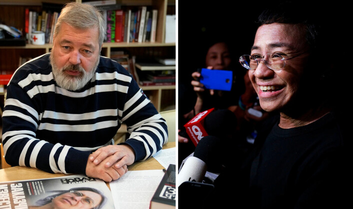 Nobels fredspris til journalister
