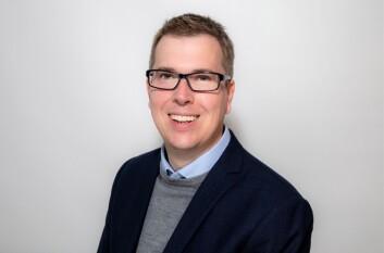 Eirik Hoff Lysholm, styreleder i Norsk Redaktørforening.