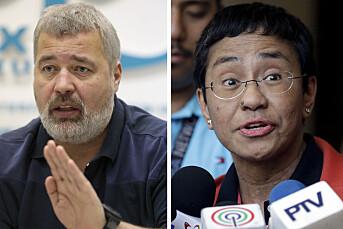 Fredsprisen tildeles høyst fortjent til to modige journalister. Det forplikter hele vår yrkesgruppe