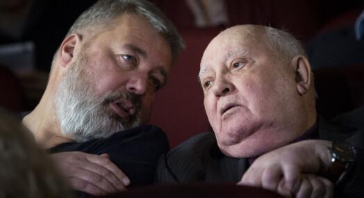 Gorbatsjov: Fredsprisen er godt nytt for pressen