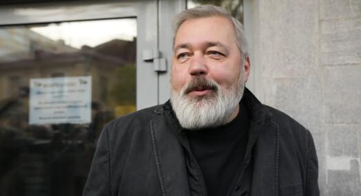 Muratov sier han ville gitt fredsprisen til Navalnyj