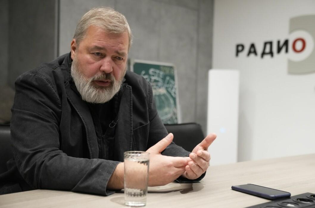 Dmitrij Muratov reagerer på at enda flere russiske journalister er ført opp på myndighetenes liste over utenlandske agenter.