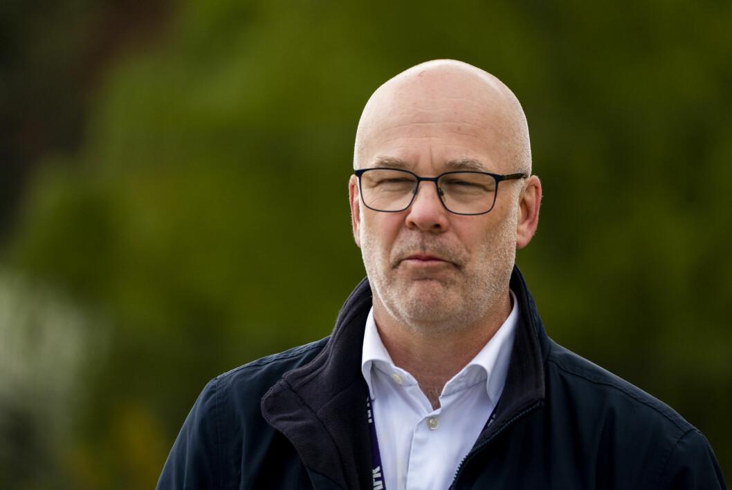 Kringkastingssjef Thor Gjermund Eriksen fratrer i løpet av neste år.