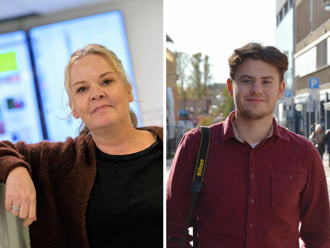 Felicia Øystå og Marcus Røseth Isachsen har fått jobb i Svalbardposten.