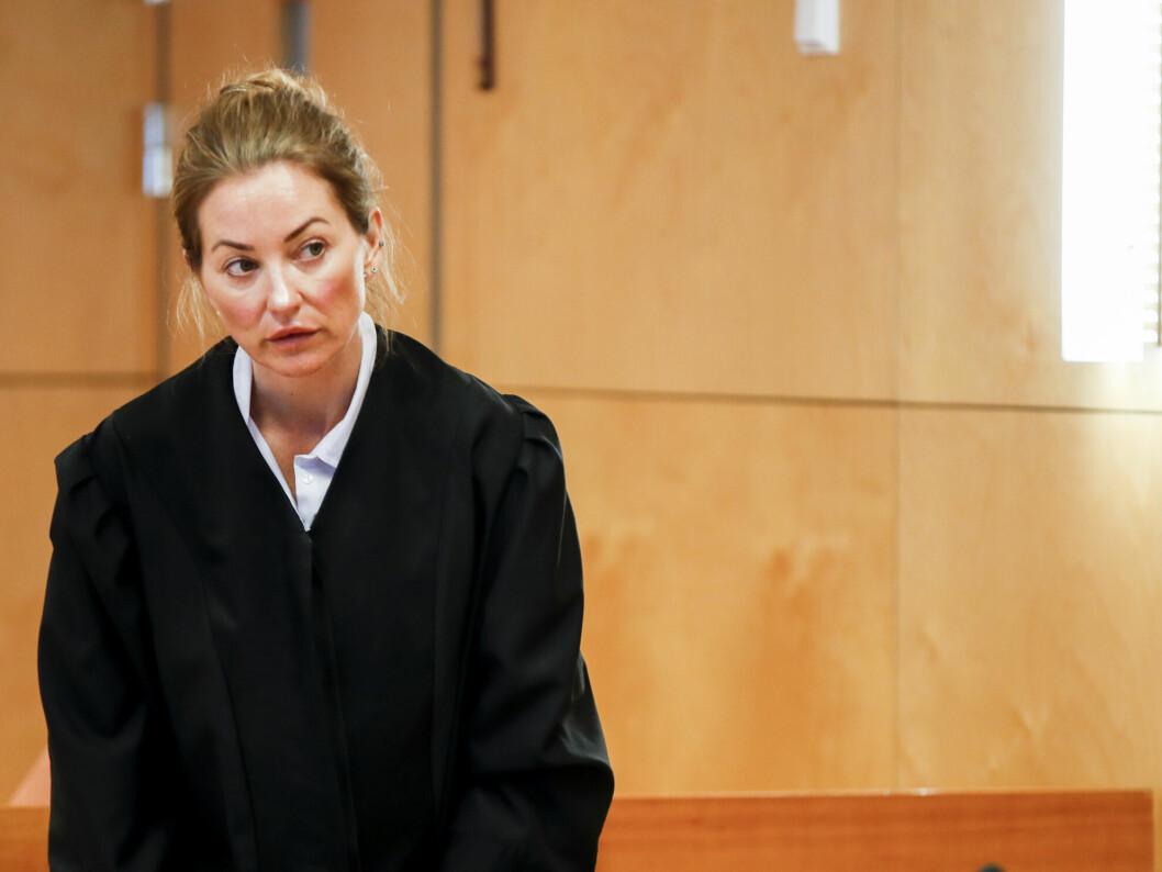 Ida Andenæs forsvarer Gaute Drevdal i saken som startet i lagmannsretten tirsdag.