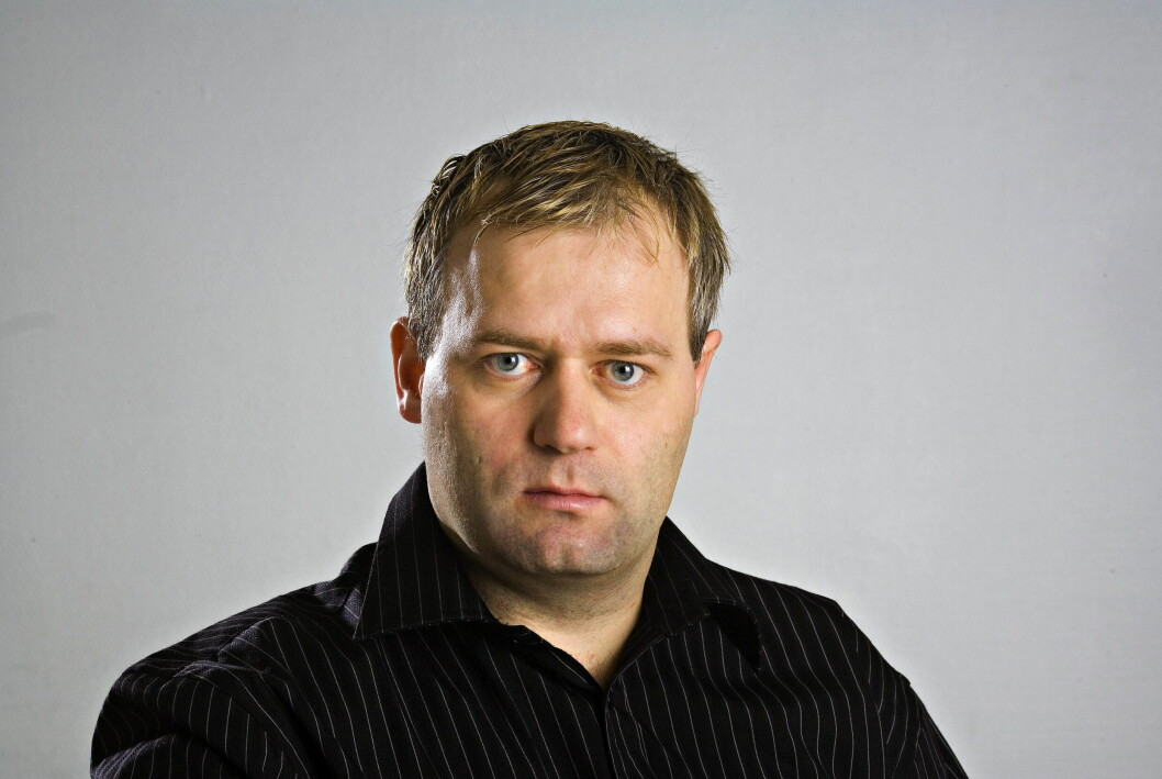 Roy Wahlstrøm ble fast ansatt ansatt i Dagbladet som sportsjournalist i 2001.