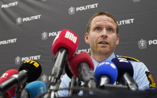 SVT mistet lyden under Kongsberg-pressekonferanse: Skapte anklager om sensur