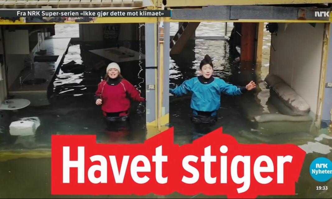 NRK Supers klimaserie trues med anmeldelse