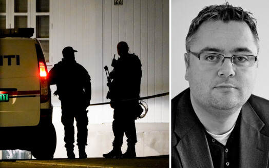 Terror-ekspert og journalist Kjetil Stormark rykket ut i hjembyen Kongsberg: – Til å begynne med var jeg bare pappa