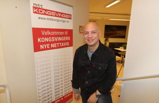 Audun Bårdseth er ansatt som ny ansvarlig redaktør for Mitt Kongsvinger